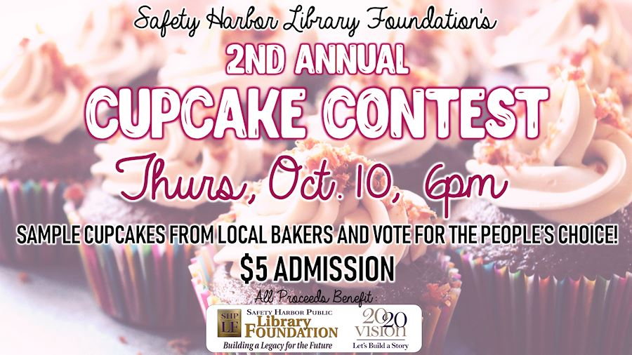 Cupcake Contest - Thursday, October 10, 6pm