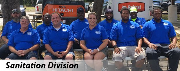 Public Works Sanitation Division Staff
